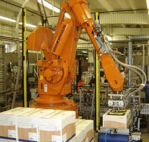 Kartong robot